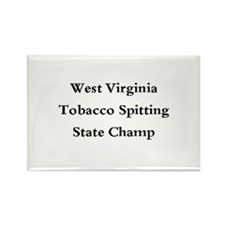 WVA Tob Spit Champ Rectangle Magnet