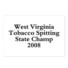 08 WVA Tob Spit Champ Postcards (Package of 8)