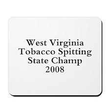 08 WVA Tob Spit Champ Mousepad