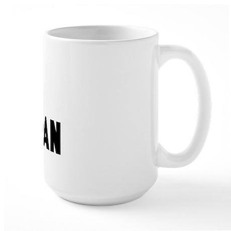 Sam is the man Large Mug