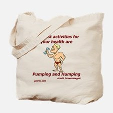 Healthy Activities Tote Bag