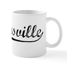 Vintage Kernersville (Black) Mug