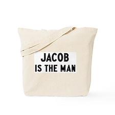 Jacob is the man Tote Bag