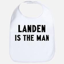 Landen is the man Bib
