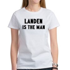 Landen is the man Tee