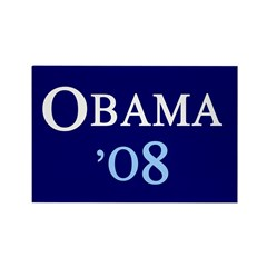 OBAMA'08 Rectangle Magnet (10 pack)