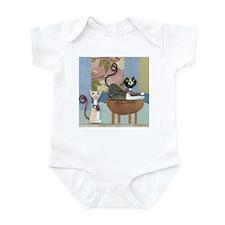 Swanky Inside Cats Infant Bodysuit