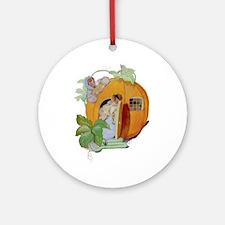 PETER PETER PUMPKIN EATER Ornament (Round)