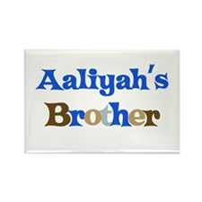 Aaliyah's Brother Rectangle Magnet