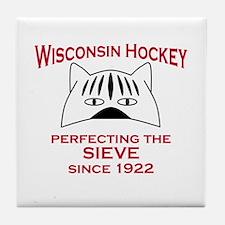 Cute Minnesota hockey Tile Coaster