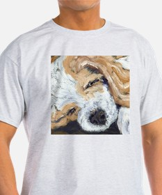 Sleepy Cocker Pup T-Shirt