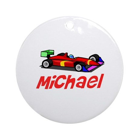 Michael Ornament (Round)
