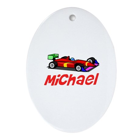 Michael Oval Ornament