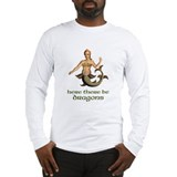 Here be dragons Long Sleeve T-shirts