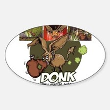 Donk Oval Decal