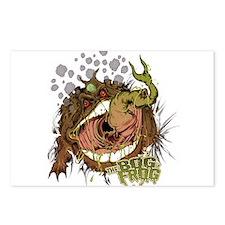 Bog Frog Postcards (Package of 8)
