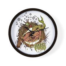 Bog Frog Wall Clock