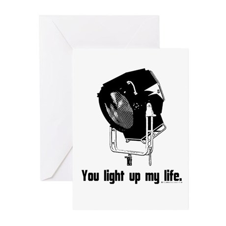You Light Up My Life! Greeting Cards (Pk of 20)
