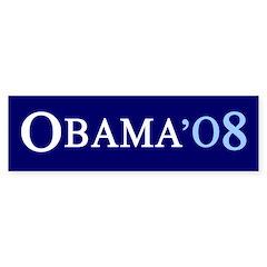 OBAMA'08 Bumper Bumper Sticker