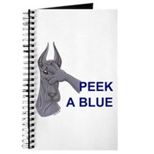 C Peekablue Great Dane Notepad