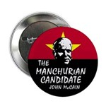 "Manchurian McCain 2.25"" Button (10 pack)"