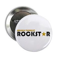 "Massage Therapist Rockstar 2 2.25"" Button"