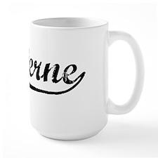 Vintage La Verne (Black) Mug