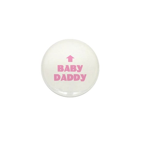 Baby Daddy Mini Button