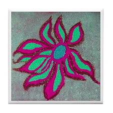 POP SIDEWALK CHALK ART Tile Coaster