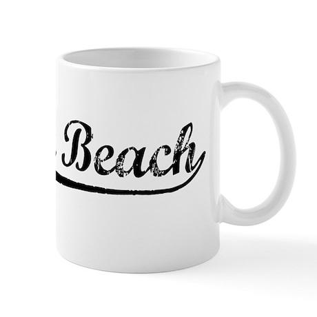 Vintage Laguna Beach (Black) Mug
