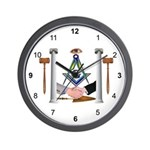 Masonic Fraternal Wall Clock