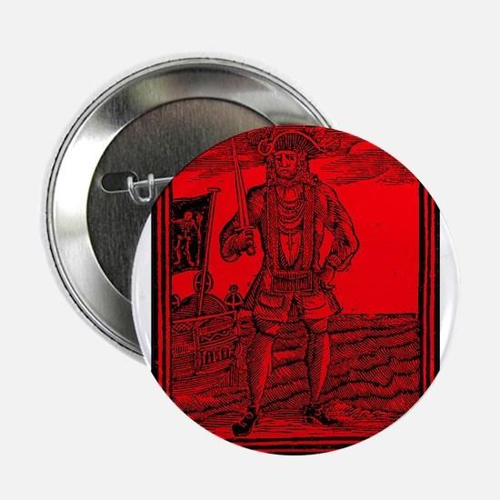 Black Bart Roberts Pirate Button
