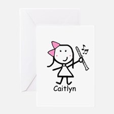 Clarinet - Caitlyn Greeting Card