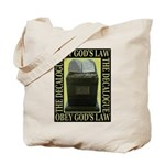 The Ten Commandments Tote Bag