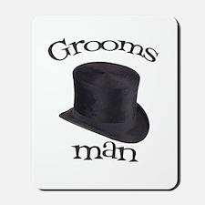 Top Hat Groomsman Mousepad