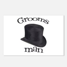Top Hat Groomsman Postcards (Package of 8)