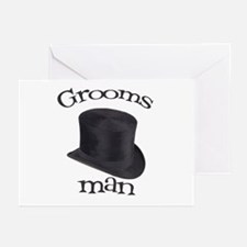 Top Hat Groomsman Greeting Cards (Pk of 10)