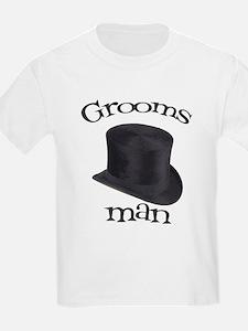 Top Hat Groomsman T-Shirt