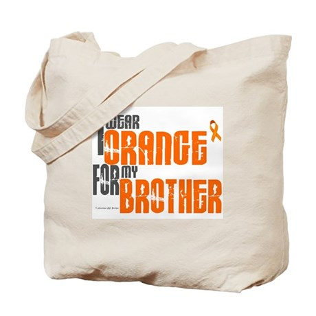 I Wear Orange For My Brother 6 Tote Bag
