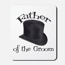Top Hat Groom's Father Mousepad