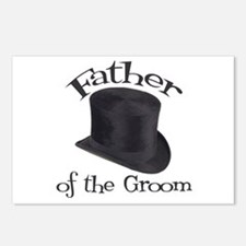Top Hat Groom's Father Postcards (Package of 8)