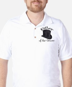 Top Hat Groom's Father Golf Shirt