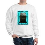 10 Commandments Sweatshirt