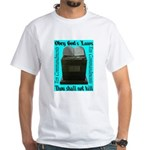 10 Commandments White T-Shirt