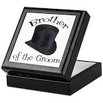 Top Hat Groom's Brother Keepsake Box