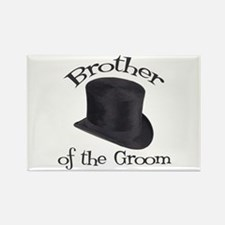 Top Hat Groom's Brother Rectangle Magnet