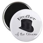 Top Hat Groom's Brother Magnet