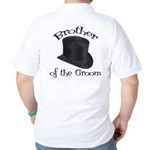 Top Hat Groom's Brother Golf Shirt
