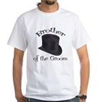 Top Hat Groom's Brother White T-Shirt
