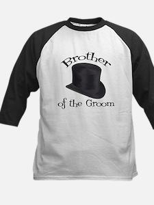 Top Hat Groom's Brother Kids Baseball Jersey